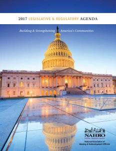 2017 Leg Agenda Cover