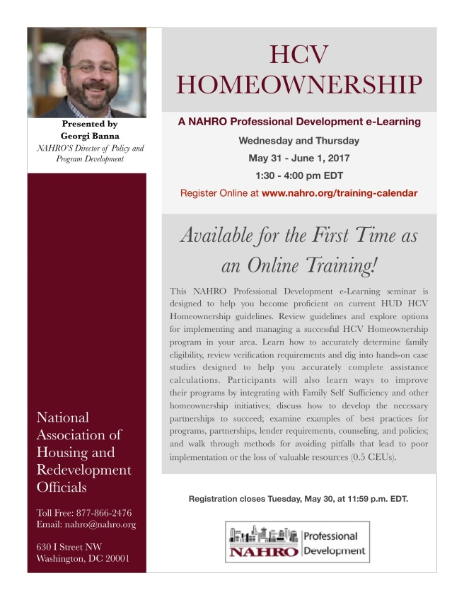 NAHRO HCV Homeownership e-Learning Flyer - IMG_6541